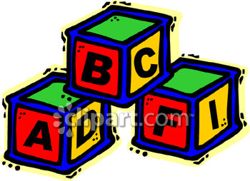 Abc Blocks Clipart - Clipart Kid graphic