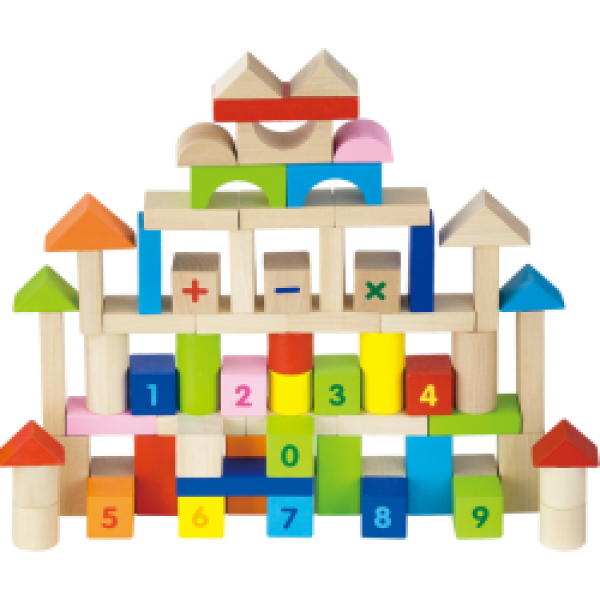 Alphabet building blocks clipart picture royalty free library 100 Piece ABC & Number Blocks picture royalty free library