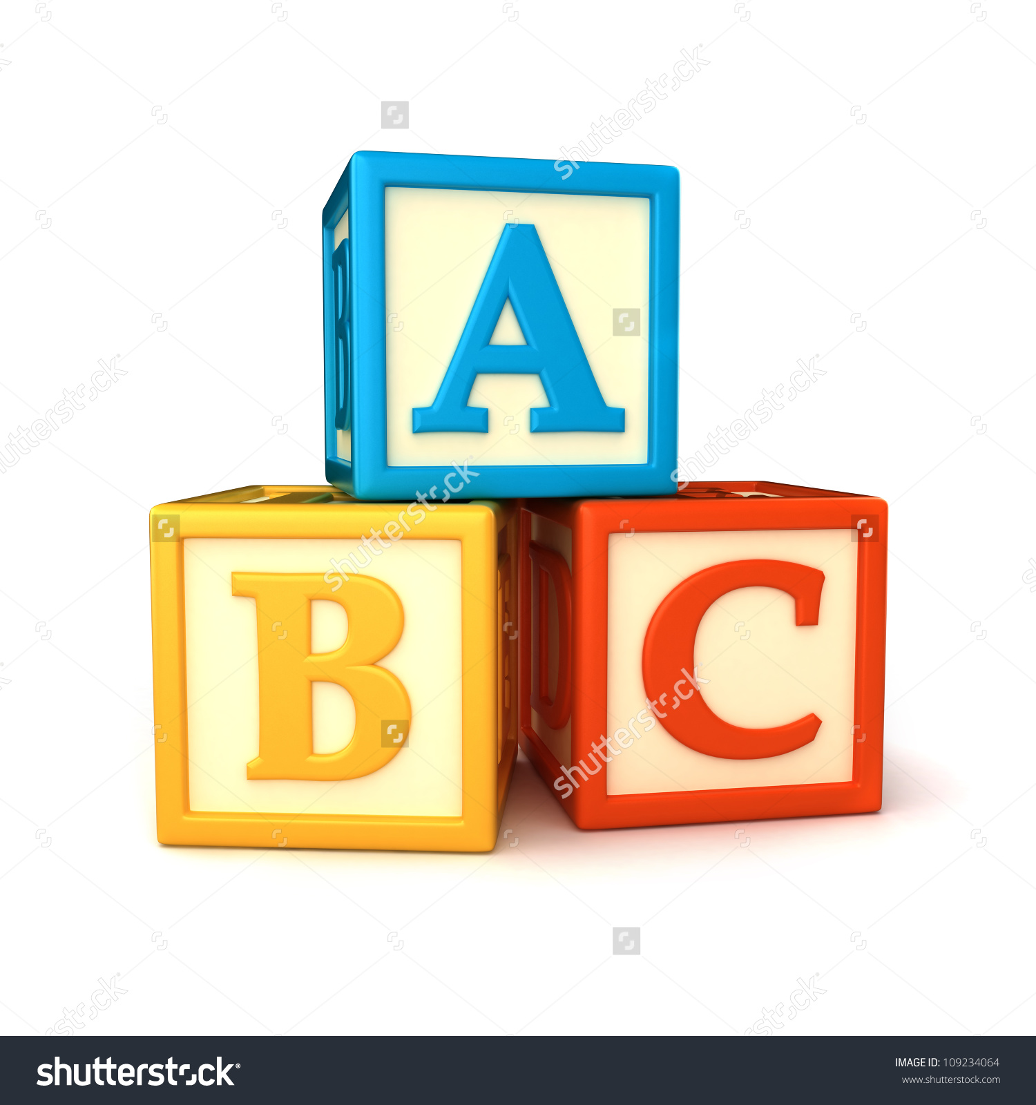 Alphabet clipartfest save to. Abc building blocks clipart