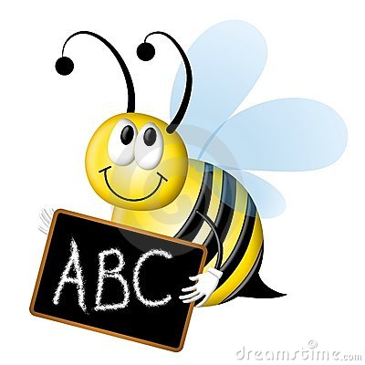 Spelling Bee With ABC Chalkboard Stock Images - Image: 4758374 svg transparent library