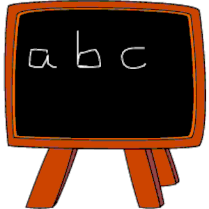 Abc chalkboard clipart freeuse library Free Chalkboard Clipart Pictures - Clipartix freeuse library