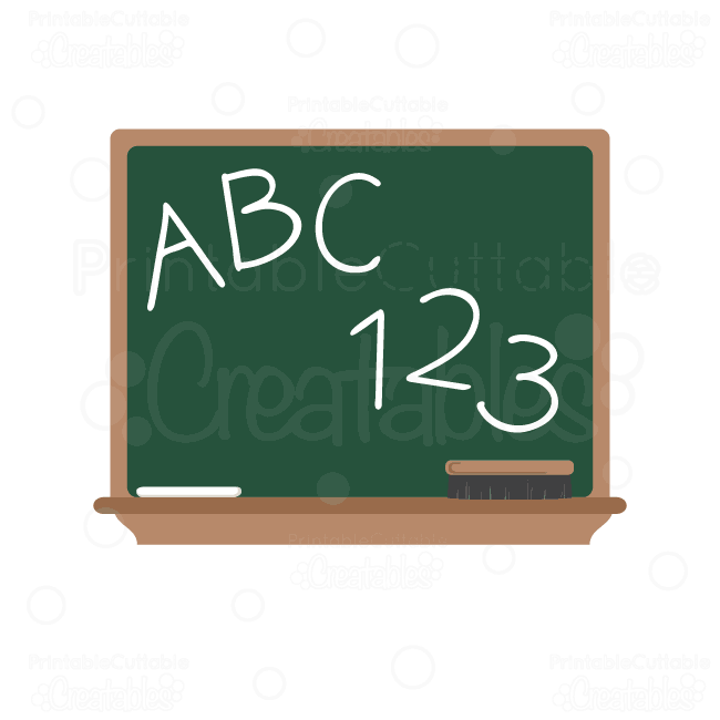 Abc chalkboard clipart - ClipartFest black and white stock
