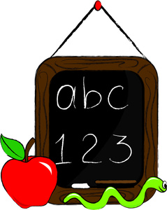 Abc chalkboard clipart - ClipartFest vector transparent