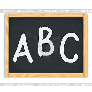 Clipartfest letters on . Abc chalkboard clipart