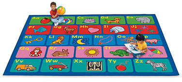 Abc classroom rug clipart picture freeuse download Alphabet Activity Classroom Carpets at Lakeshore Learning picture freeuse download