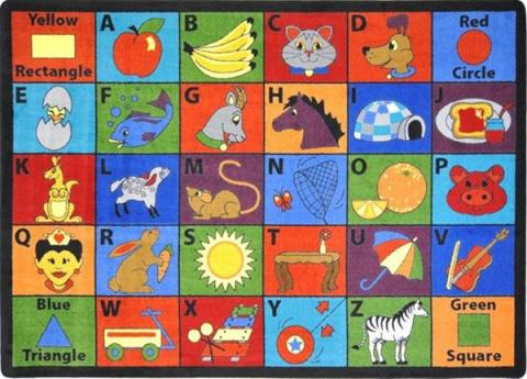 Abc classroom rug clipart banner free library 10 Best images about Kids Class Rugs & Mats on Pinterest | Carpets ... banner free library
