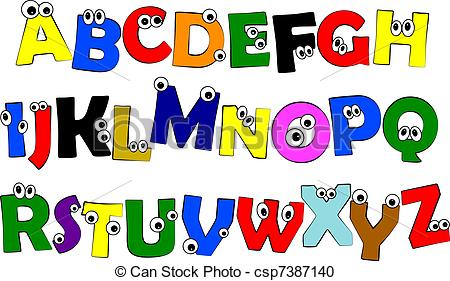 Abc clip art vector transparent stock Preschool Abc Clipart - Clipart Kid vector transparent stock