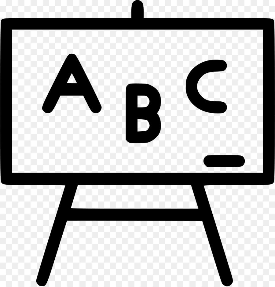 Abc clipart chalkboard quote clip black and white download School Black And White png download - 940*980 - Free Transparent ... clip black and white download