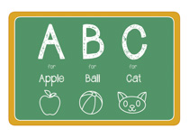 Abc clipart chalkboard quote image library library Abc Chalkboard Clipart image library library