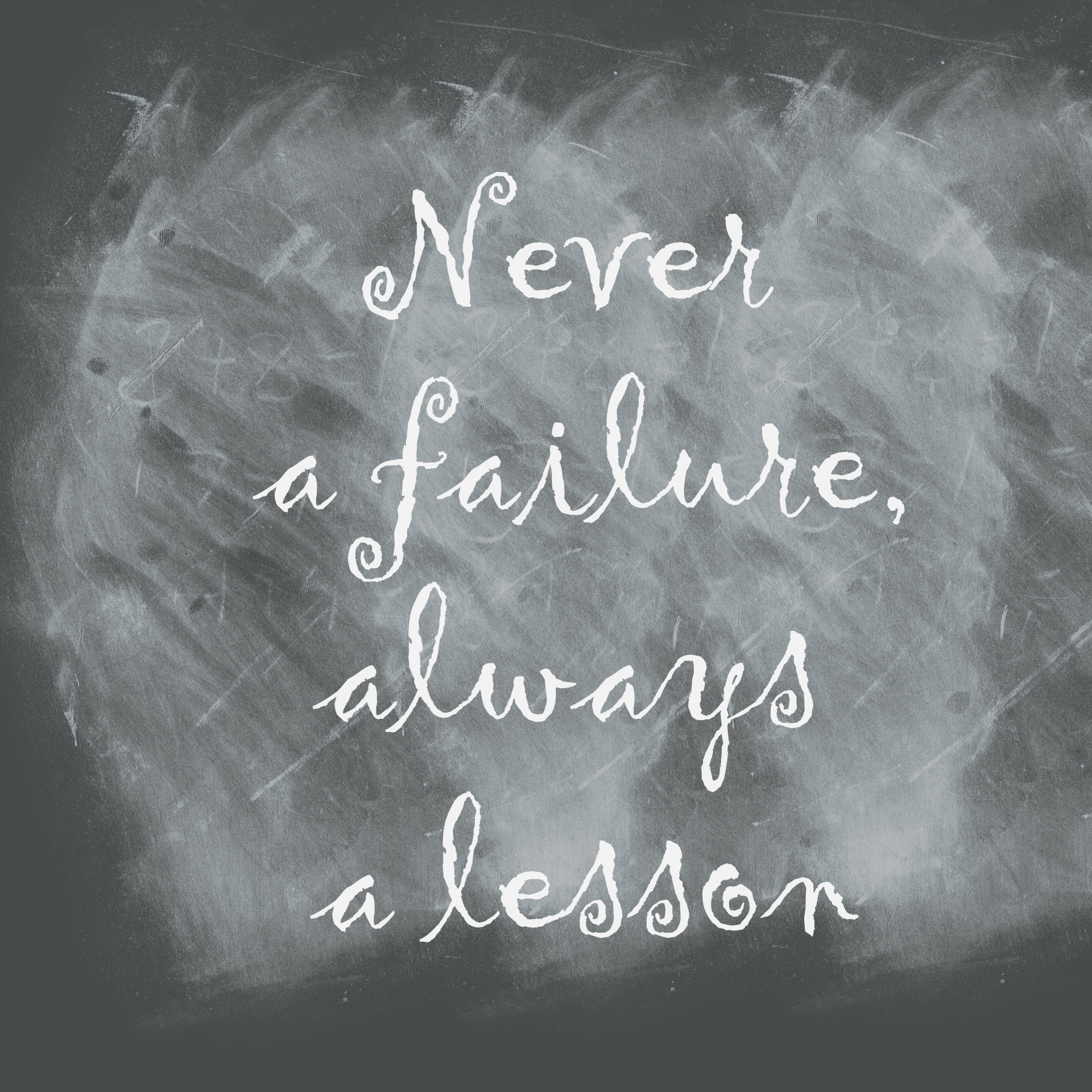 Abc clipart chalkboard quote graphic transparent library Chalkboard,quote,never failure always lesson,blackboard ... graphic transparent library
