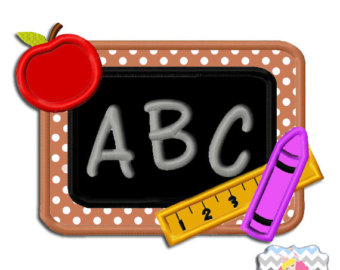 Abc clipart chalkboard quote clip library download Abc Chalkboard Clipart clip library download