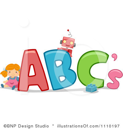 Abc clipart free. Blocks black and white