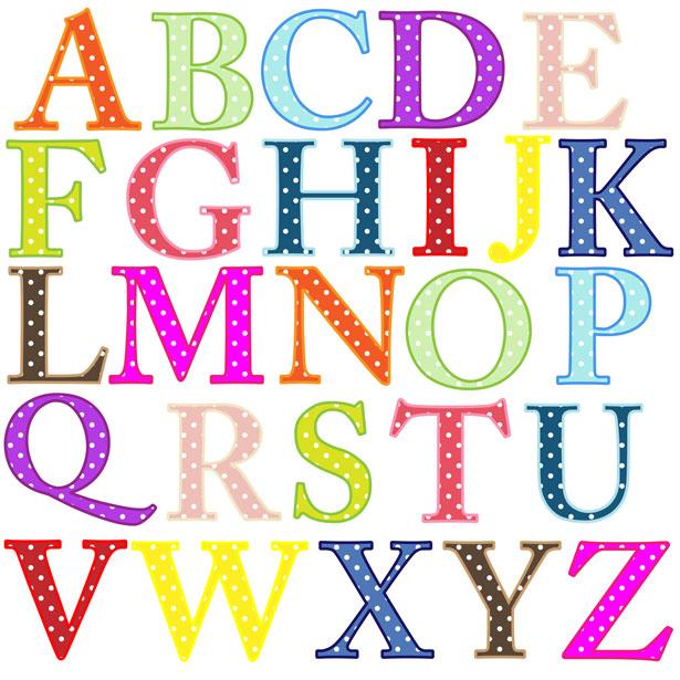 Free pictures clipartix blocks. Abc clipart letters