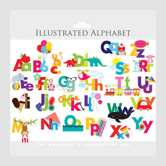 Abc clipart letters clipart royalty free Individual Alphabet Letters Clipart - Clipart Kid clipart royalty free