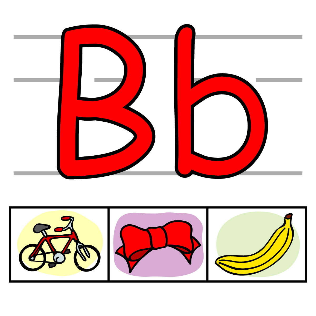 Individual alphabet kid for. Abc clipart letters