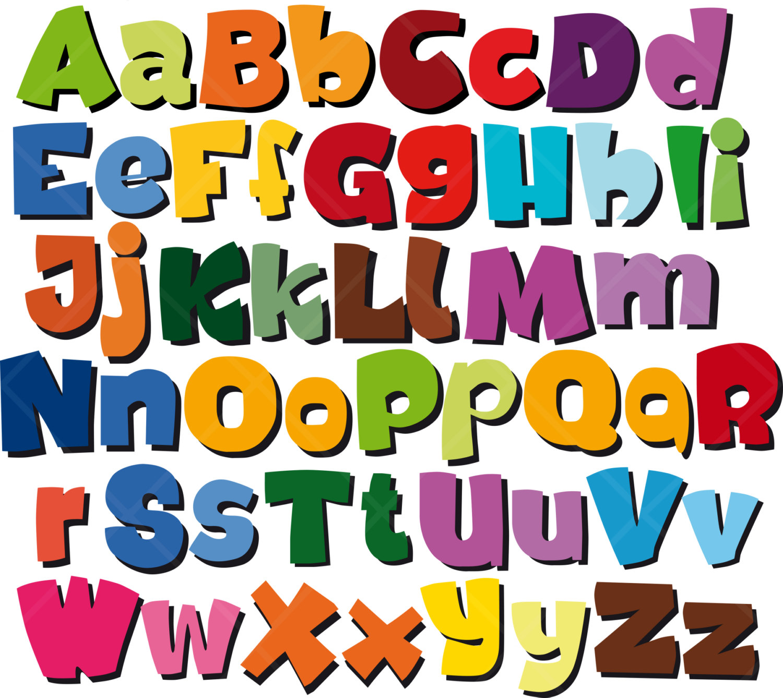 Abc clipart letters. Alphabet clip art letter