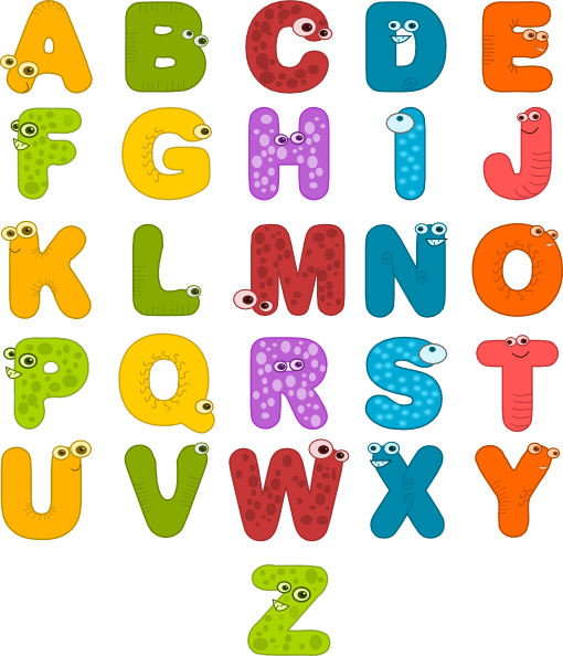 Abc clipart letters free stock Individual Alphabet Letters Clipart - Clipart Kid free stock