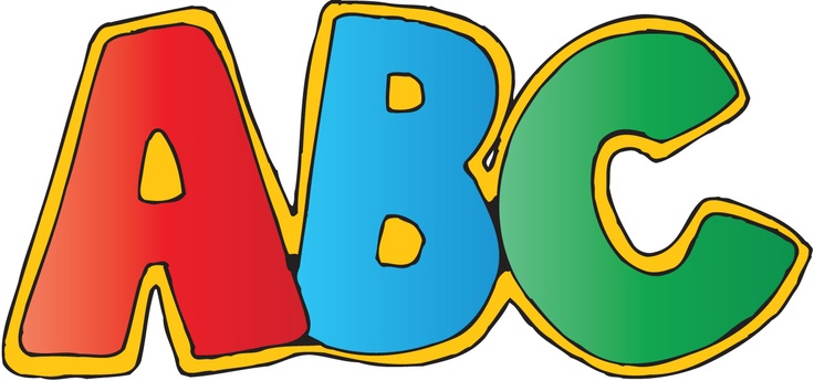 Abc clipart panda graphic freeuse library clip art abc letters | Clipart Panda - Free Clipart Images graphic freeuse library