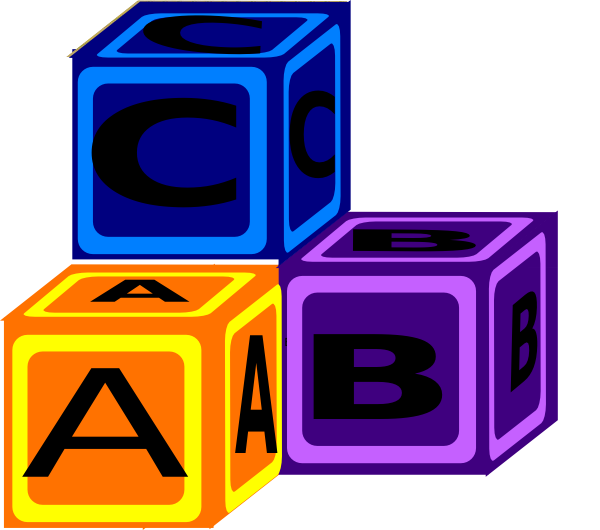 Abc clipart png vector royalty free library Abc Blocks Clip Art at Clker.com - vector clip art online, royalty ... vector royalty free library