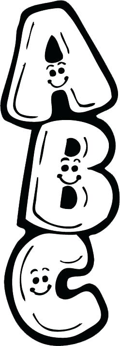 Abc clipart word black and white banner free download Collection of Abc clipart | Free download best Abc clipart on ... banner free download