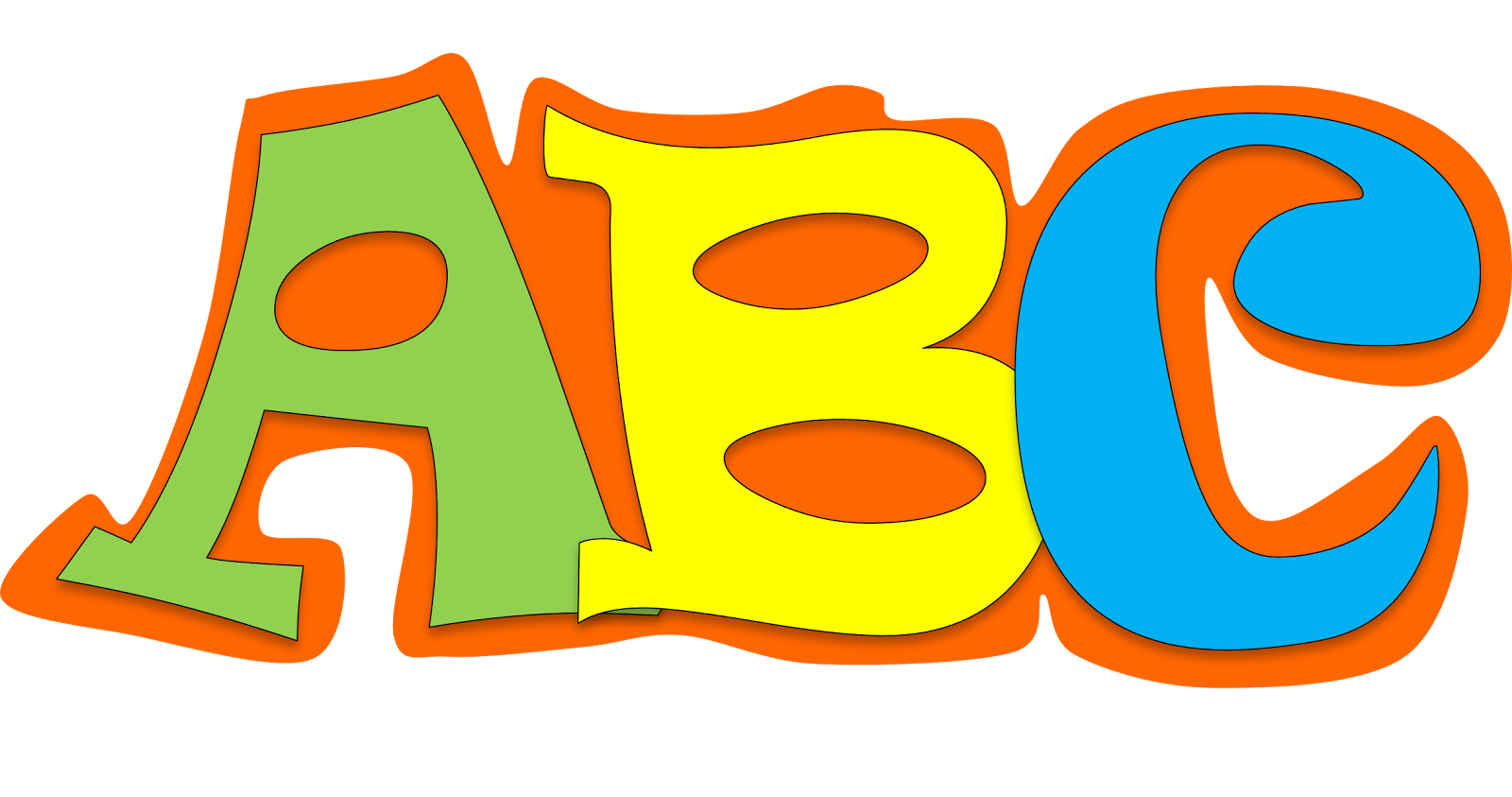 Clipart letters of the alphabet free