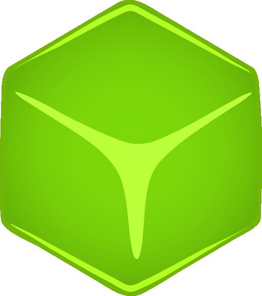 Abc cubes clipart graphic library download Green 3d Cube Clip Art at Clker.com - vector clip art online ... graphic library download
