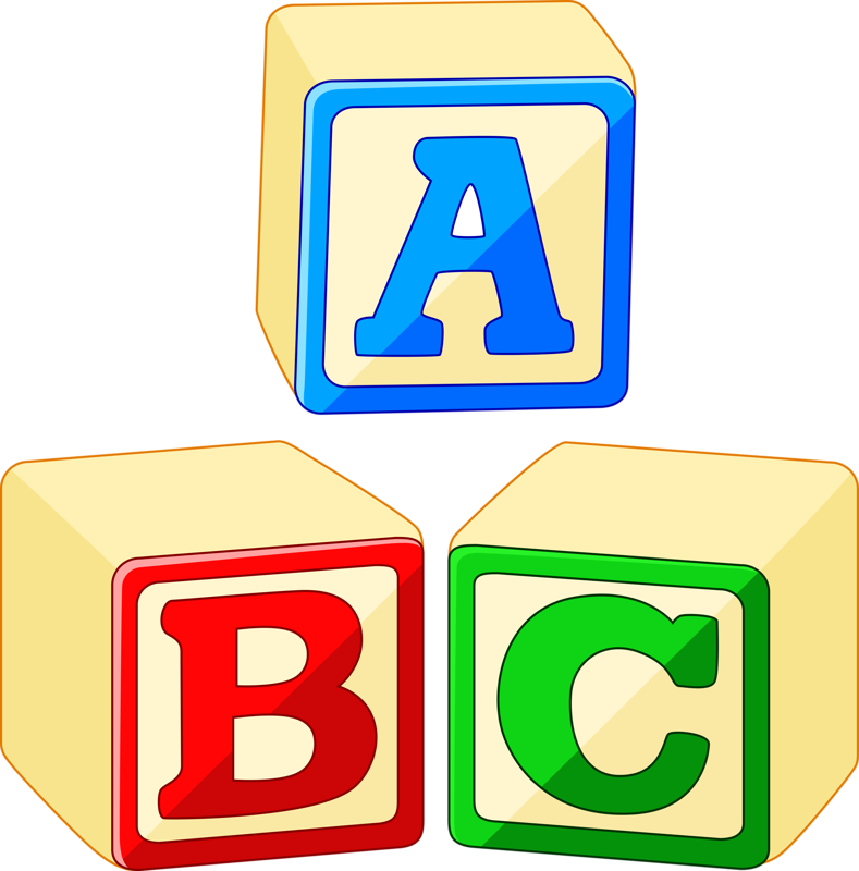 Toy block stock photography. Alphabet blocks clipart