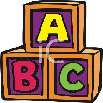 Abc cubes clipart free Abc Blocks Clipart Black And White | Clipart Panda - Free Clipart ... free