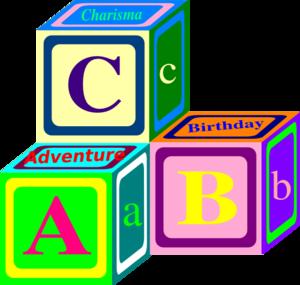 Abc cubes clipart banner transparent stock Abc Blocks Clipart - Clipart Kid banner transparent stock