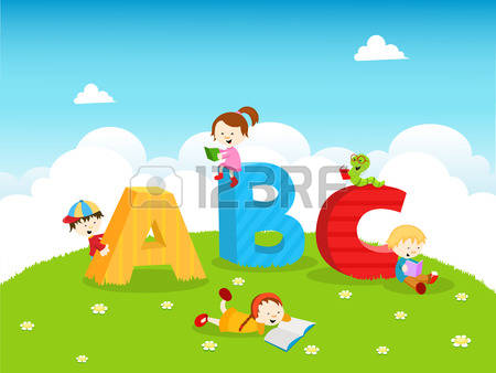 Abc kids clipart clipart library library 13,074 Kids Abc Stock Vector Illustration And Royalty Free Kids ... clipart library library