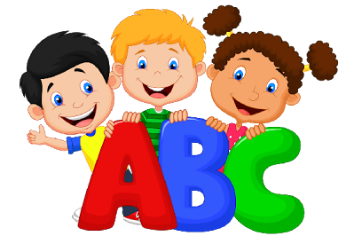 Abc kids clipart banner black and white stock Abc kids clipart - ClipartFest banner black and white stock