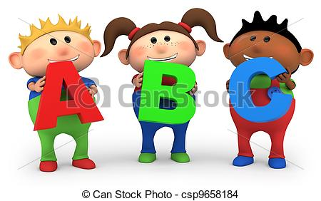 Abc kids clipart graphic library library Abc kids Clipart and Stock Illustrations. 7,360 Abc kids vector ... graphic library library