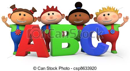 Abc kids clipart graphic free stock Abc kids Clipart and Stock Illustrations. 7,360 Abc kids vector ... graphic free stock