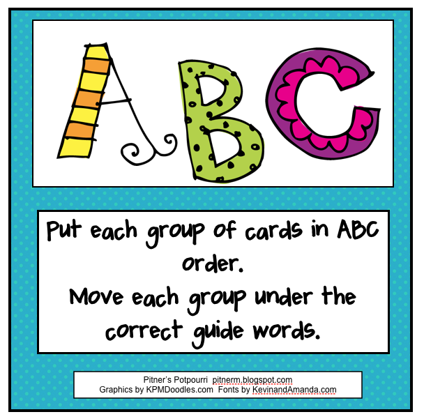 Abc order clipart clip art freeuse 10 Best images about abc order library centers on Pinterest | Game ... clip art freeuse