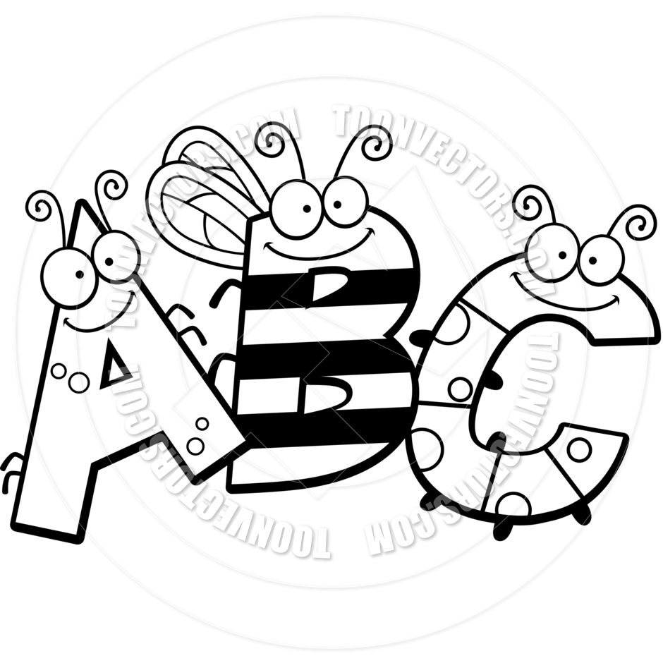Abc s clipart black and white vector free library Abc\'s Cliparts - Making-The-Web.com vector free library