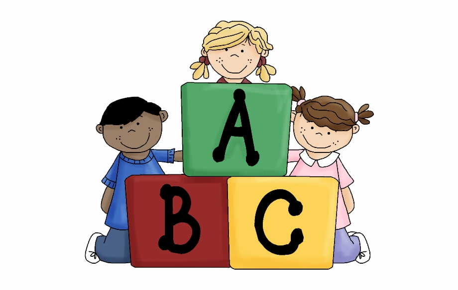Abc with kids clipart clipart black and white library Abc School Children Funny Baby Images Clip Art - Cute Abc Clipart ... clipart black and white library
