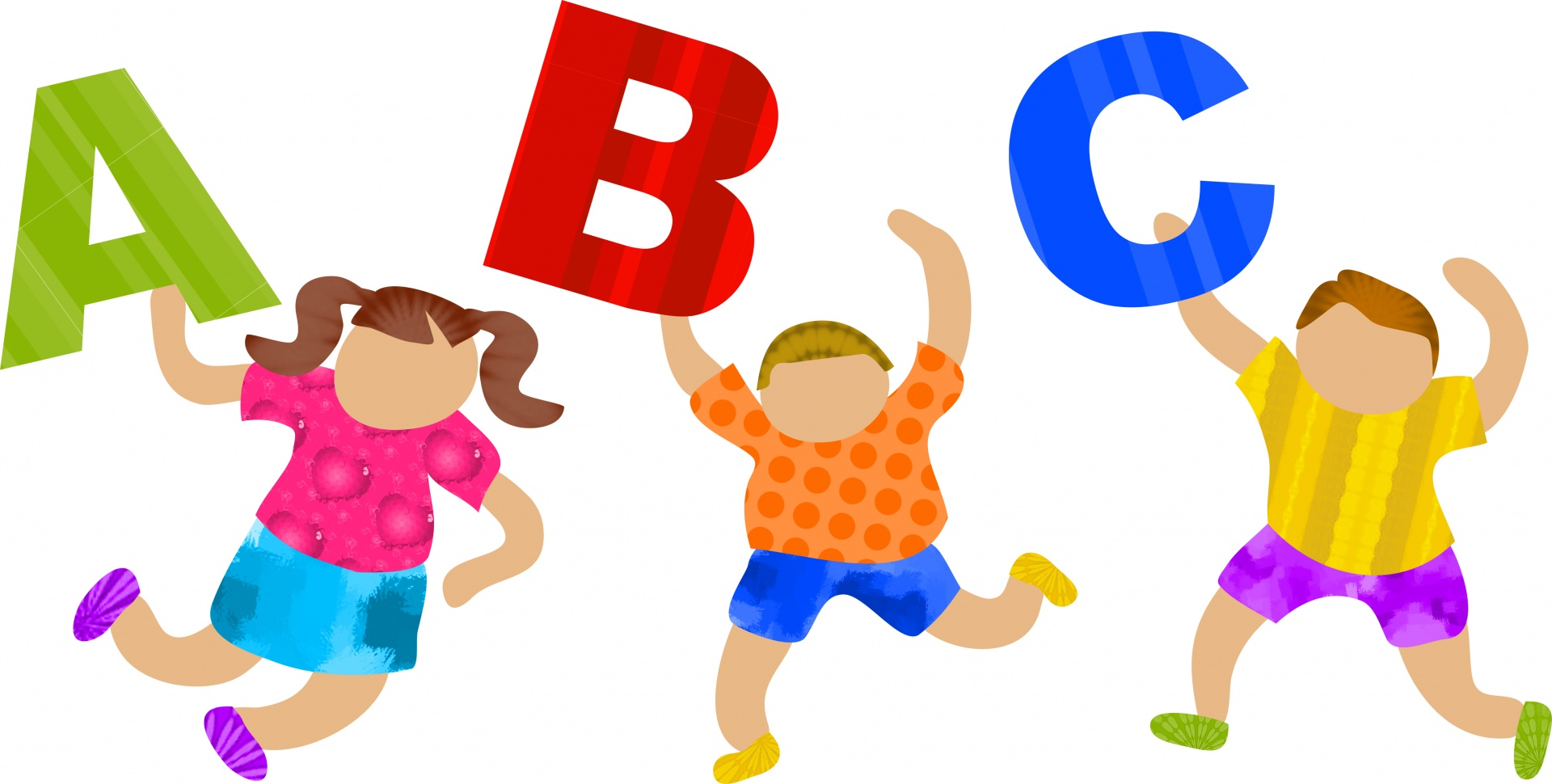 Abc with kids clipart picture freeuse stock abc-kids - picture freeuse stock