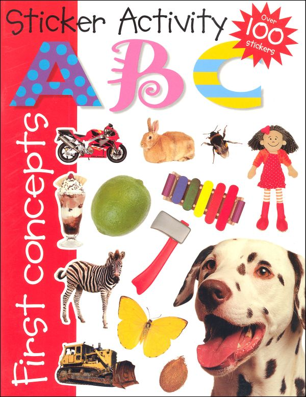 ABC - Sticker Activity Book (040011) Details - Rainbow Resource ... graphic freeuse library