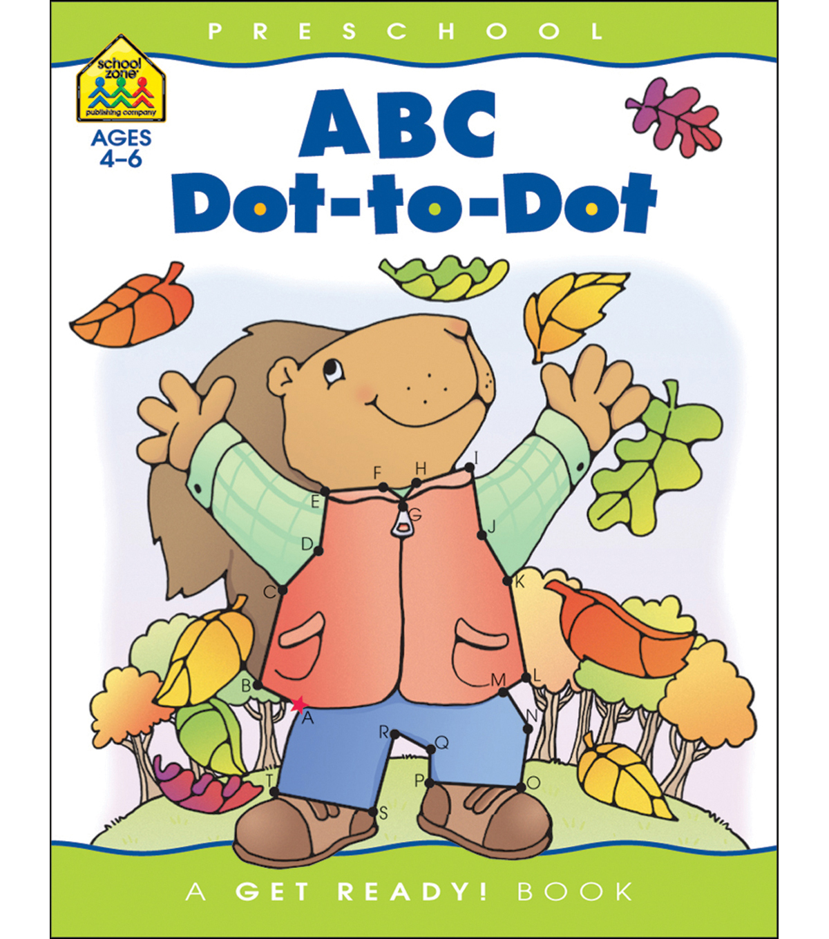 School Zone Preschool Workbooks 32 Pages-ABC Dot To Dot | Jo-Ann jpg freeuse