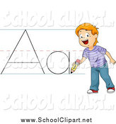 Abc writing clipart picture free stock Royalty Free Abc Stock School Designs picture free stock