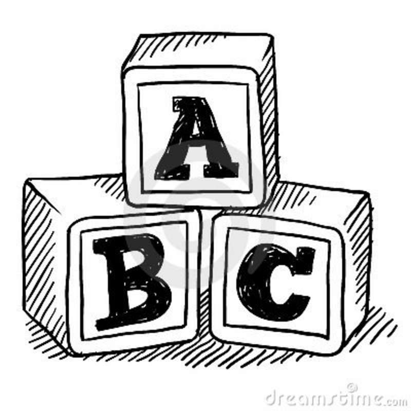 Abc Blocks Drawing | Childrens Toy WallPaper | graphic design and ... png freeuse stock