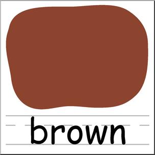 Abcteach clipart clip art free stock Clip Art: Colors: Brown I abcteach.com | abcteach clip art free stock
