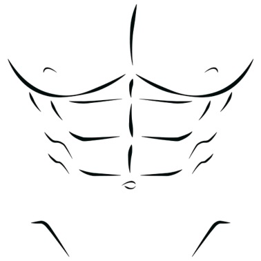 Sixpack six pack Abs Men\'s Jersey T-Shirt | Spreadshirt banner free download