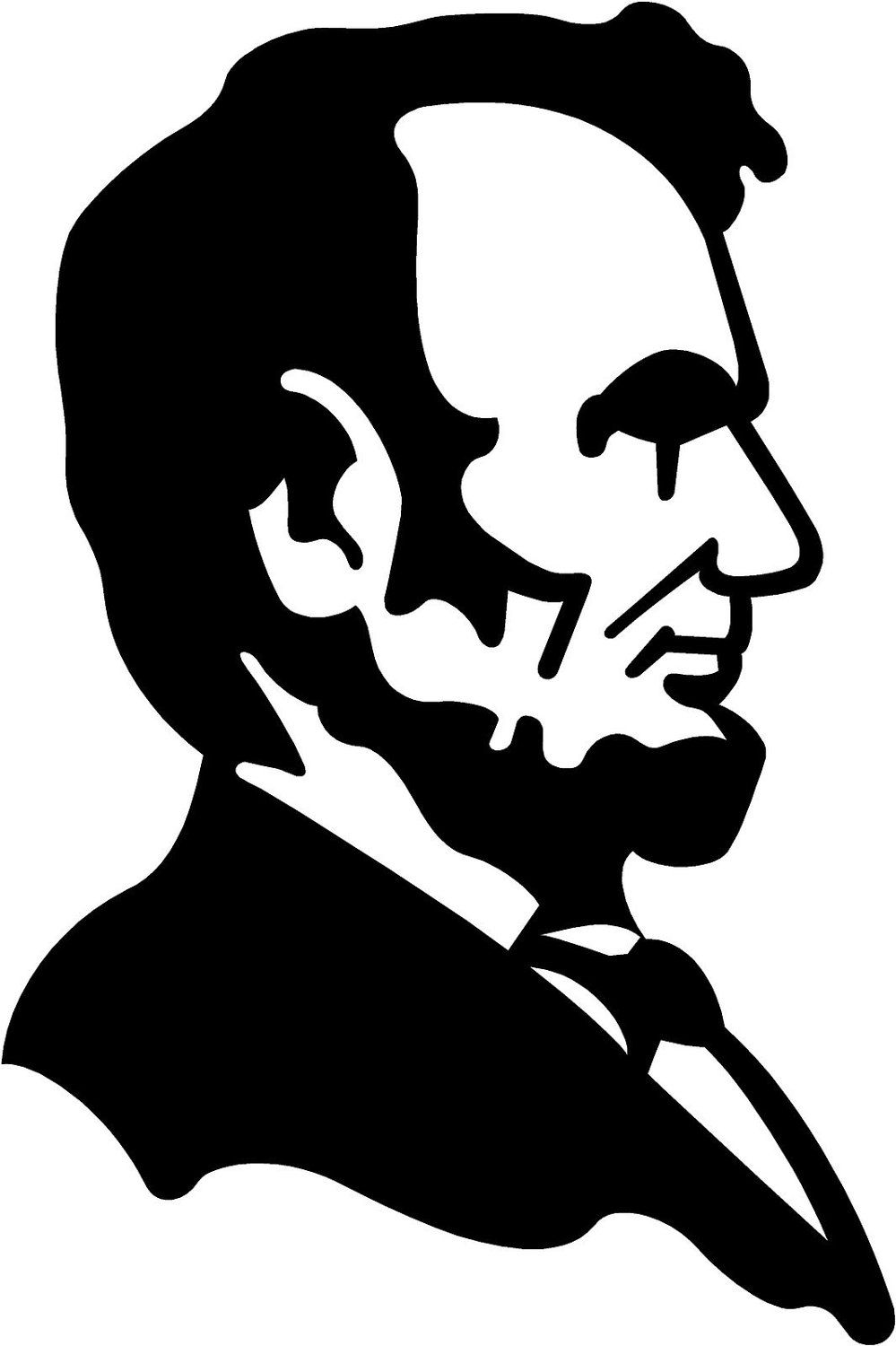 Abe lincoln clipart for kids black and white image royalty free stock printable pictures of abraham lincoln - Google Search | Great Men ... image royalty free stock