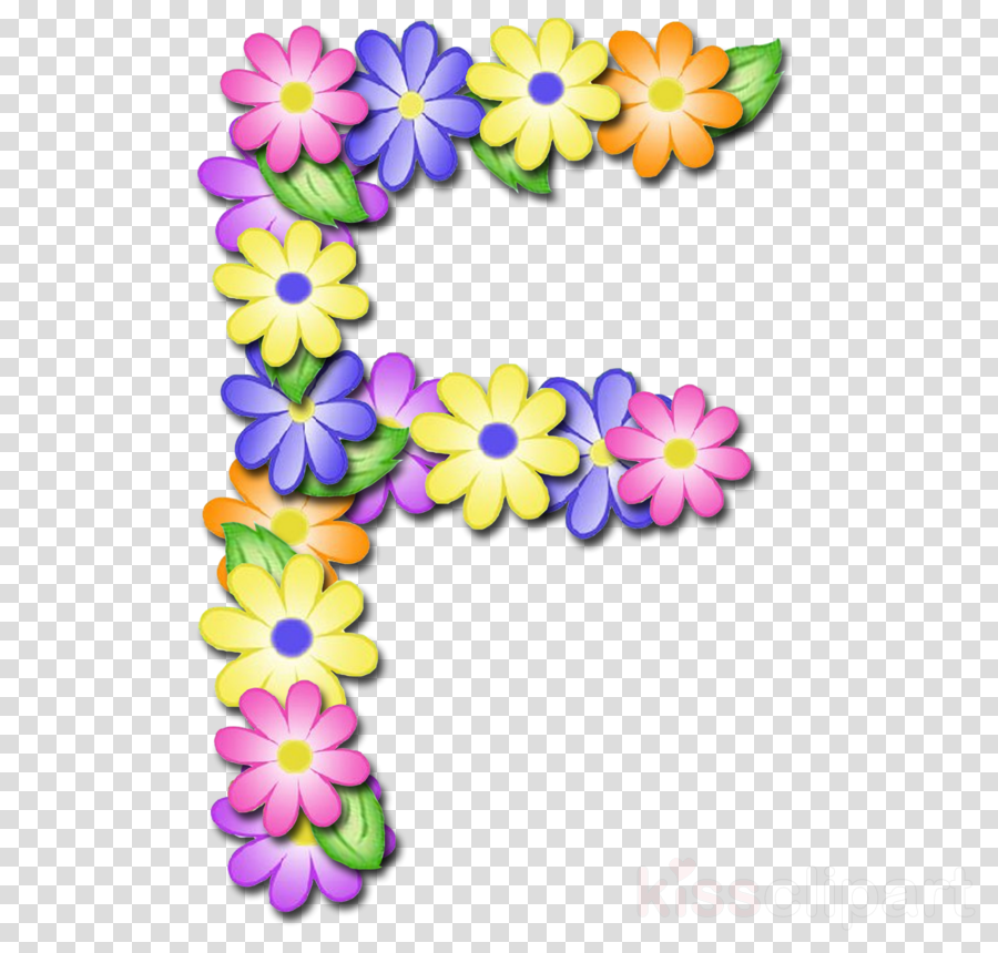 Abecedario clipart svg freeuse stock Download letras de flores abecedario clipart Alphabet Letter Clip art svg freeuse stock