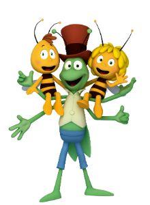 Los protagonistas de \'La abeja Maya\'. | Cumple | Abeja maya, Abeja ... graphic royalty free