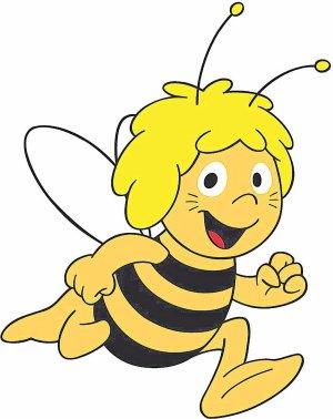 La abeja Maya\', en inglés y subtitulada en valenciano | Las Provincias jpg black and white