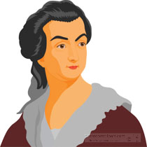 Abigail adams clipart graphic black and white Search Results for abigail adams - Clip Art - Pictures - Graphics ... graphic black and white