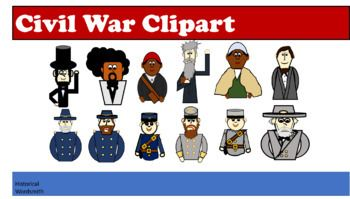 Abolitionist clipart picture library Civil War Soldiers, Politicians and Abolitionist Clipart | teaching ... picture library