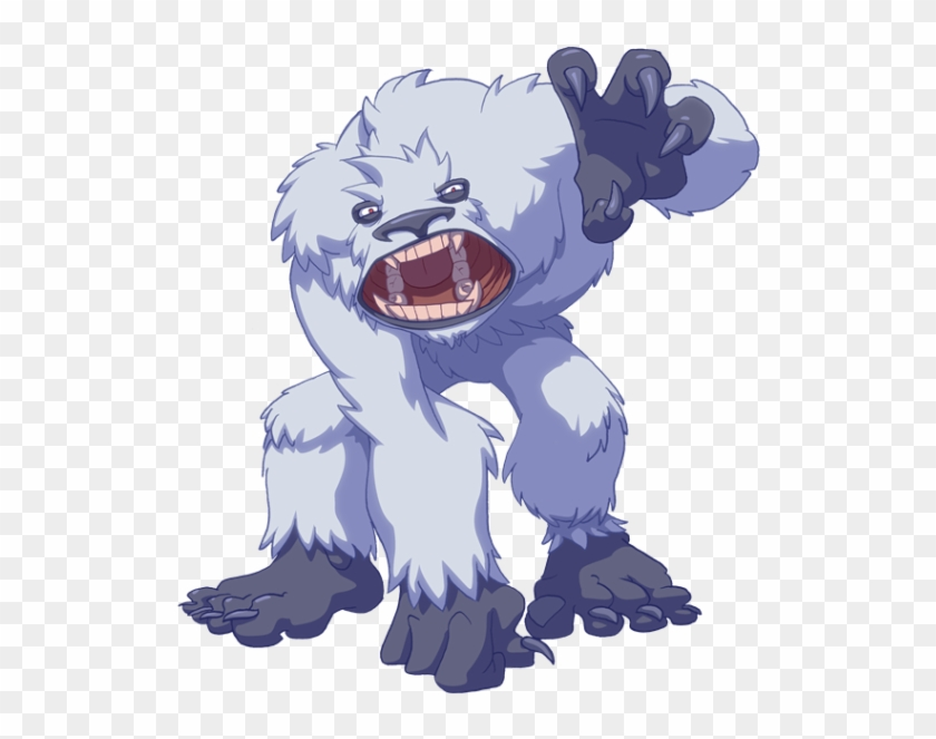 Abominable snowman clipart svg library library Abominable Snowman Png - Zork World Of Warcraft, Transparent Png ... svg library library